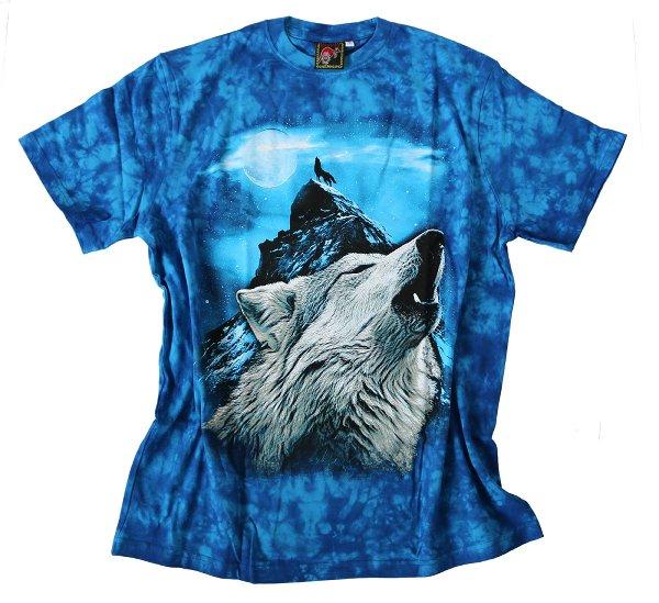 Bushfire Night Wolf T-Shirt