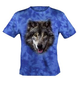 Bushfire Wolf Head T-Shirt