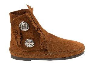 Minnetonka Two Button Boots