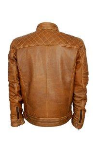 Lederjacke Antik Classic brown