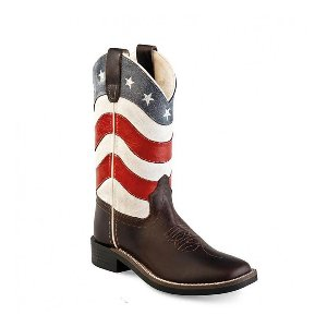 Old West US-Flag Kinderboots