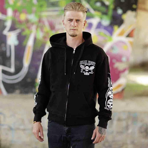 Kapuzenjacke Billy Eight Garage Logo