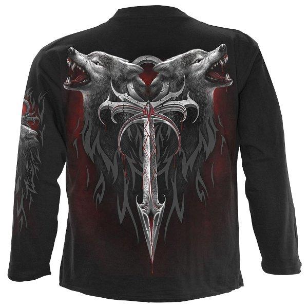Spiral Legend of the Wolves Longshirt