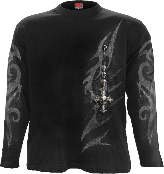 Spiral Tribal Chain Longshirt