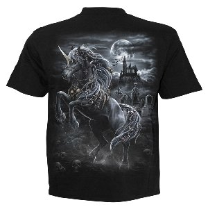 Spiral T-Shirt Dark Unicorn