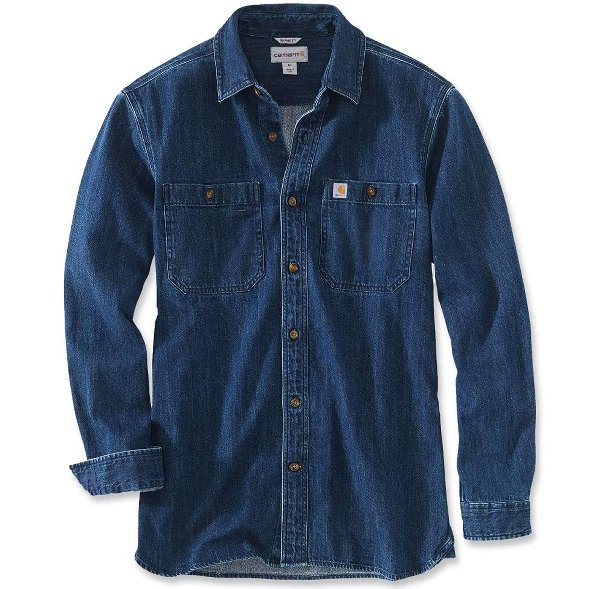 DENIM LONG SLEEVE SHIRT