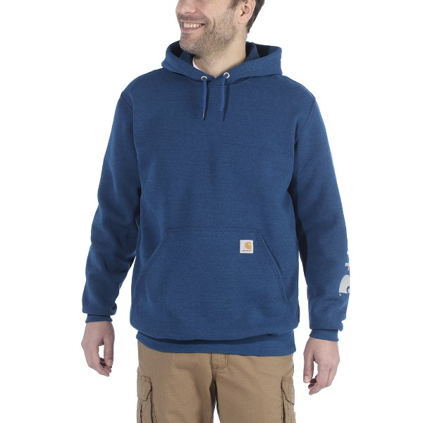 SLEEVE LOGO HOODED SWEATSHIRT