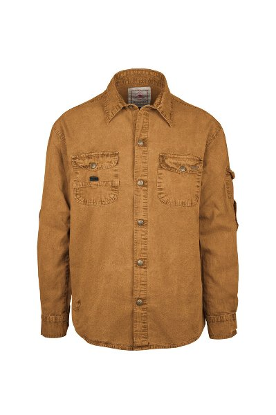 Cowra Shirt Tobacco