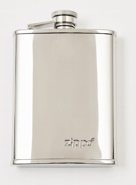Polished Hip Flask