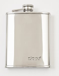 Polished Hip Flask