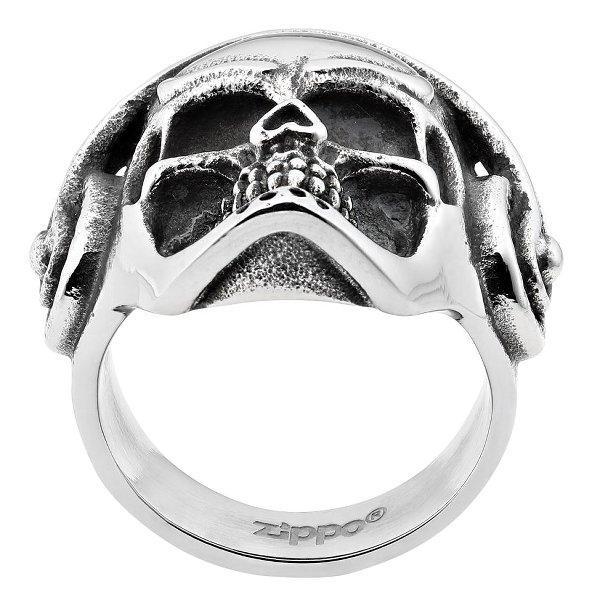 Headphone Skull Ring