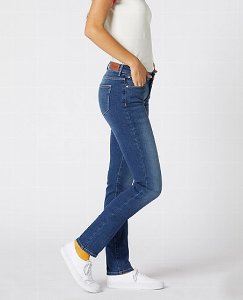 Wrangler Damenjeans Slim/ Authentic Blue