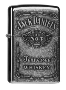 PL250JD 427JACK DANIELS LABEL CHROME