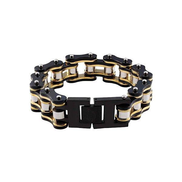 Bike Chain Black/Gold