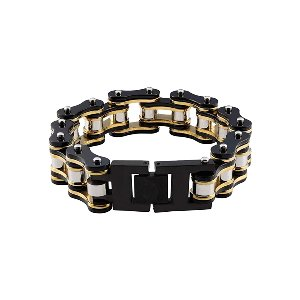 Bike Chain Black/Gold