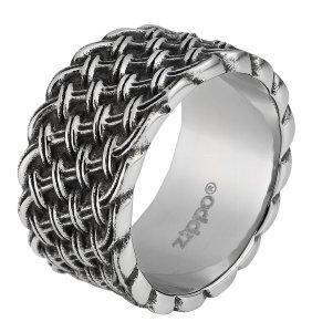 Steel Braided Ring