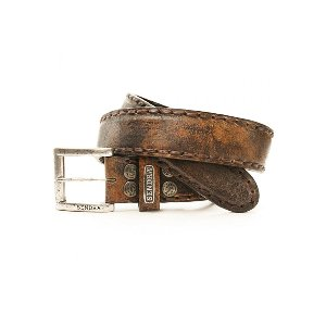 Mad Dog Tan Lavado Belt