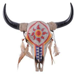 Bullenschädel Indianermotiv