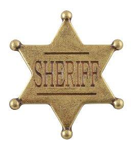Sheriffstern US Goldfarben