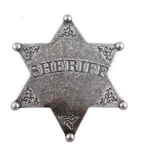 Sheriffstern grau