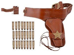 Sheriff Coltgürtel Leder