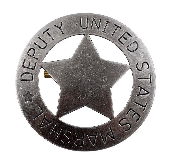 US Deputy Marshal Stern grau