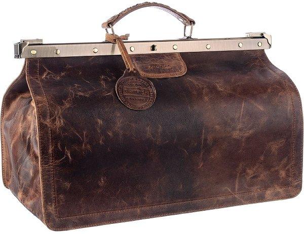 Montana Doc-Bag mit Metallbügelverschluss