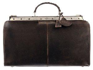 Westcoast Doc-Bag Metallbügel Silber