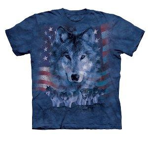 Patriotic Wolfpack Adult