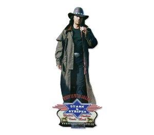 STARS & STRIPES Aufsteller Cowboy