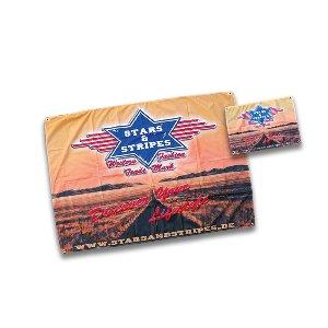 STARS & STRIPES FLAGGEN / BANNER big