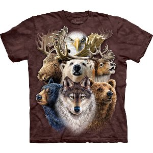 Northern Wildlife Collage Ad