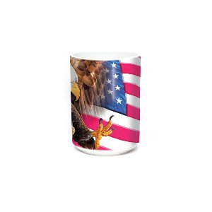 Eagle Freedom Flag 15oz Bird