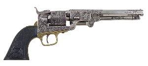 Navy Colt schwarzer Kunststoffgriff